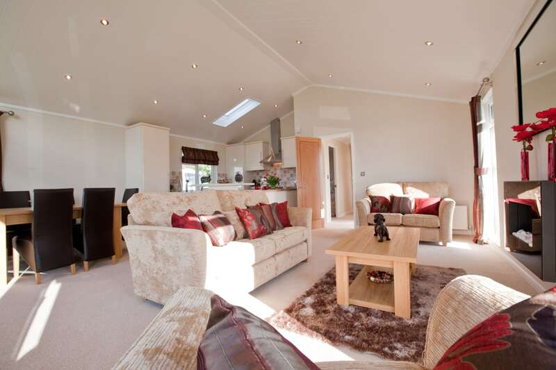 Luxury 2 bed lodges for sale in Scotland